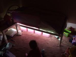 LED Bed